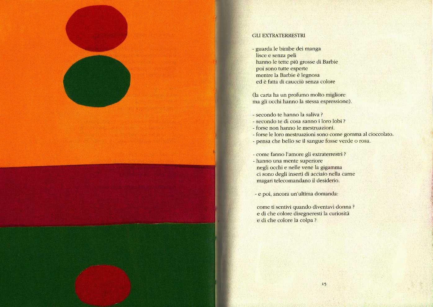 Laboratorio di poesia della scuola holden