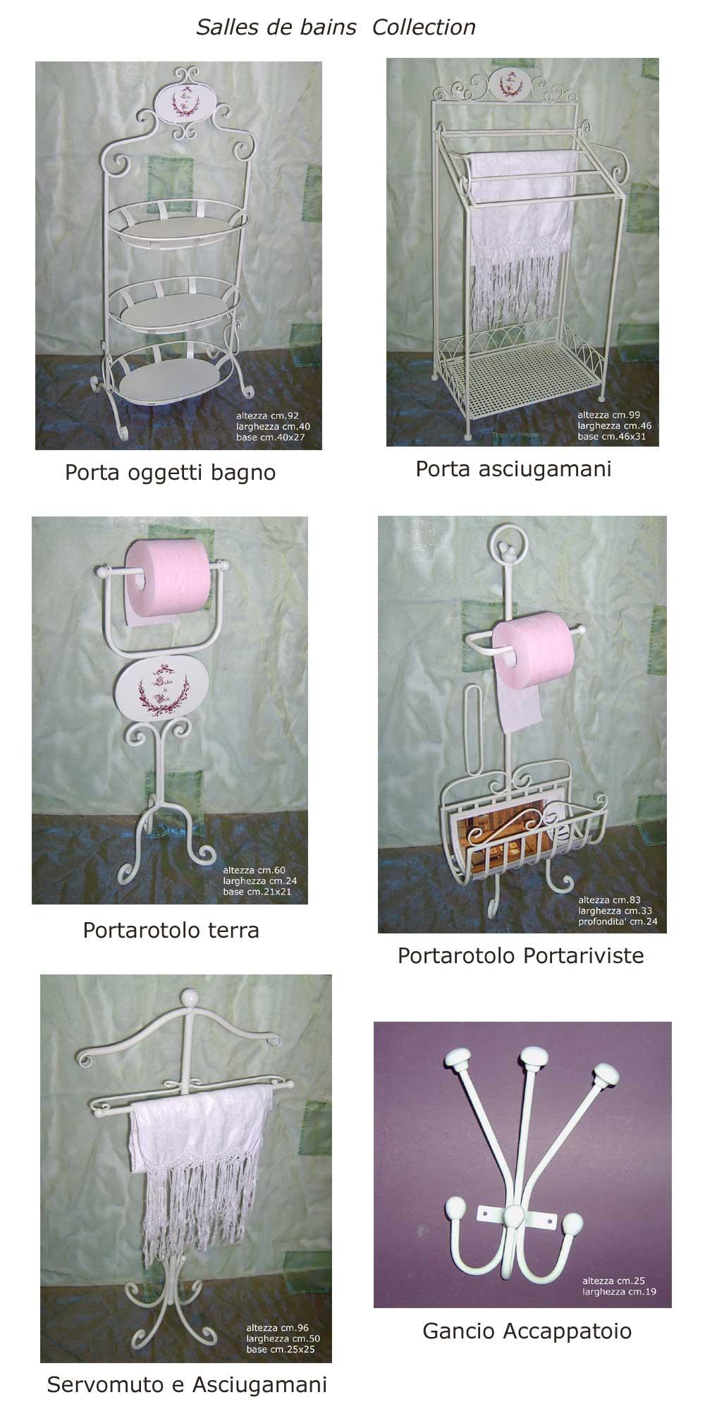 ... Arredo Bagno Porta Carta Rotolo Colonna Provenza Arredobagno  eBay