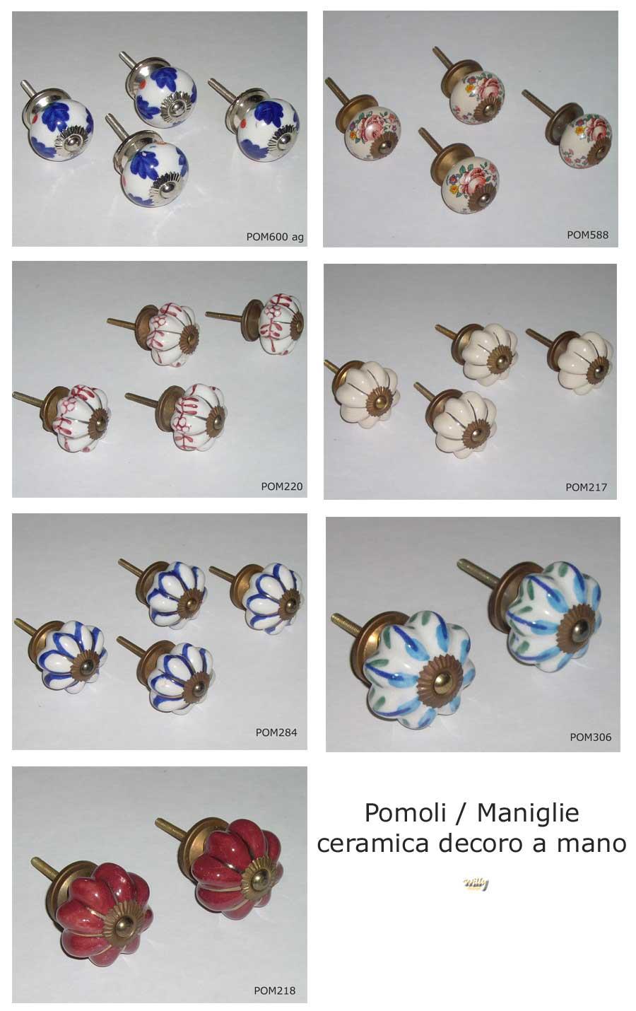 Pomelli ceramica tutte le offerte cascare a fagiolo for Maniglie mobili bagno