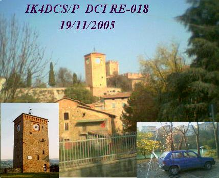 castello di castelnuovo sotto, IK4DCS/P