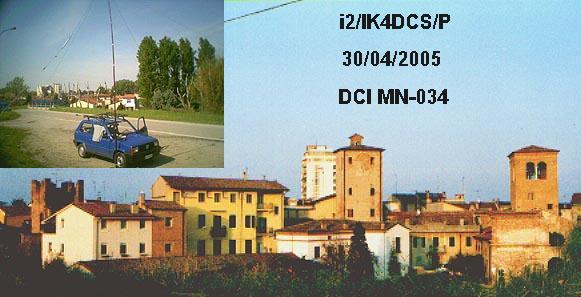 castello di motteggiana, ik4dcs/p