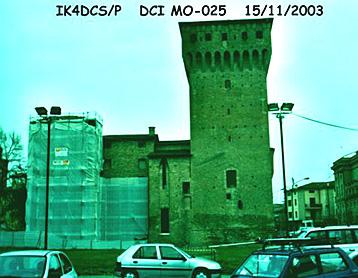 ik4dcs, mo025, castello di s. Felice sul panaro