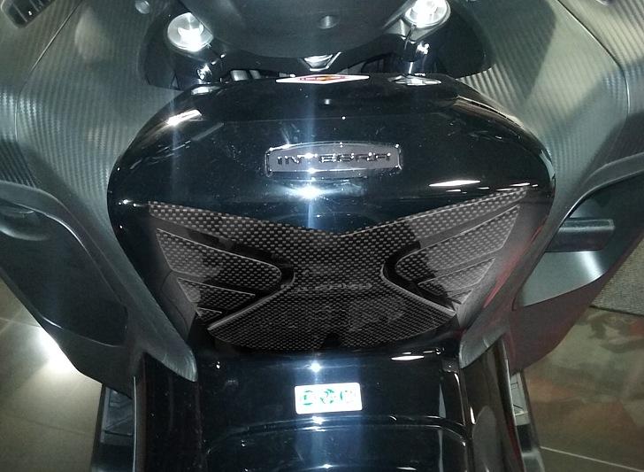 ADESIVO 3D RESINA PROTEZIONE TUNNEL CENTRALE compatibile per HONDA INTEGRA 700
