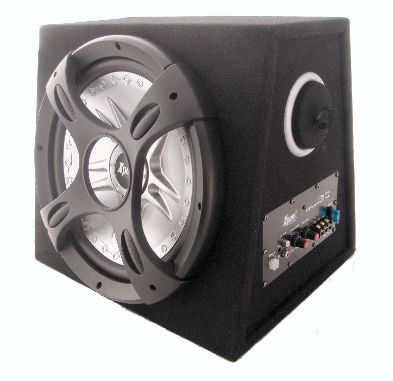 Subwoofer auto attivo amplificato boom box da 2200 watt bass reflex 30 cm ebay - Subwoofer attivo casa ...