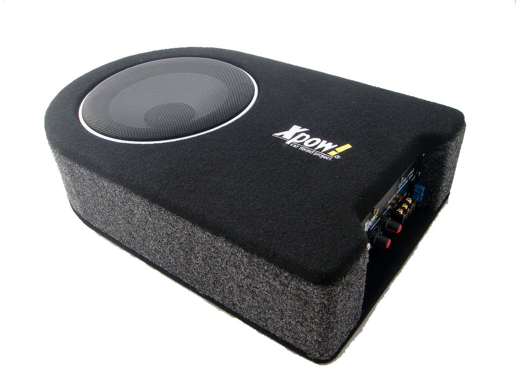 Subwoofer auto attivo amplificato flat 950 watt cassa chiusa cono da 20 cm ebay - Subwoofer attivo casa ...