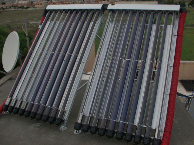 Pannello Solare A Svuotamento : Solare a svuotamento non rotex
