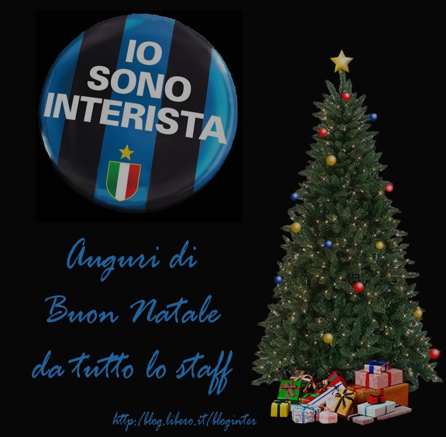 Auguri Di Buon Natale Inter.Auguri Di Buon Natale Su Io Sono Interista