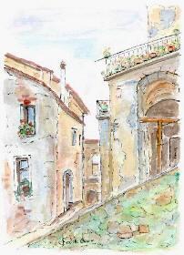 i dipinti di IRENE CATTINI <acquerelli>