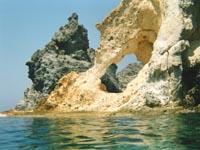 Veduta dell'isola di Ponza