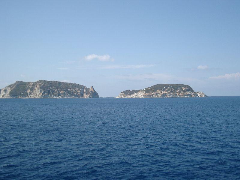 Ponza e isola di Gavi