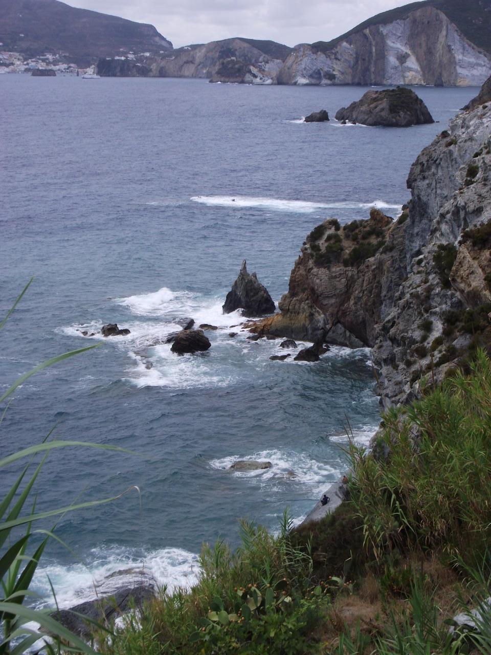 Isola di Ponza: veduta