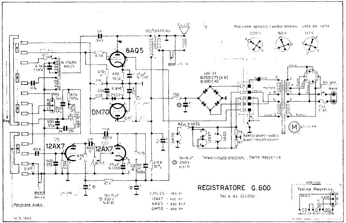 Schemi Elettrici Hobby : Resuscitare un registratore audio a nastro