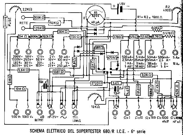 Schema Elettrico Nds Power Service : Schema elettrico tester ice g fare di una mosca