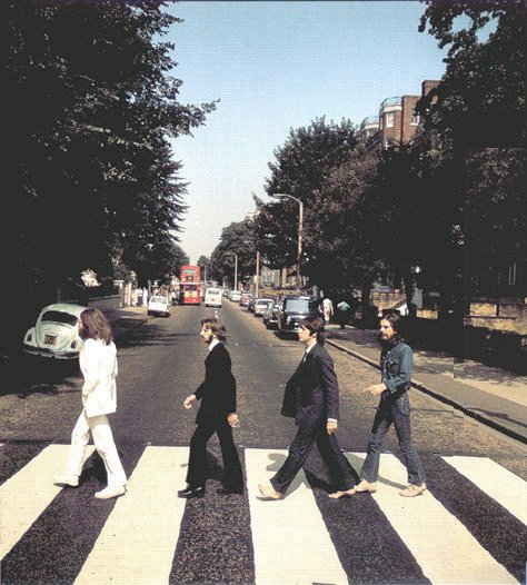 Sesión de Fotos Abbey Road: Beatles, 40 años