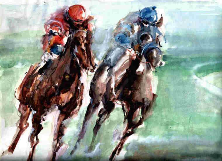 Giusi_Corsa di cavalli 1984.JPG
