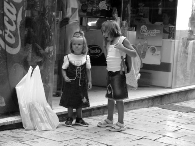 croazia 2003, bambine