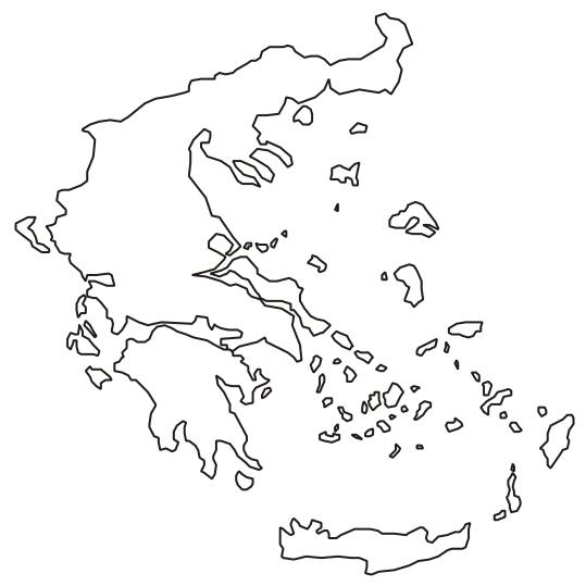 Cartina Muta Della Grecia.Mappa Muta Grecia Antica Roma