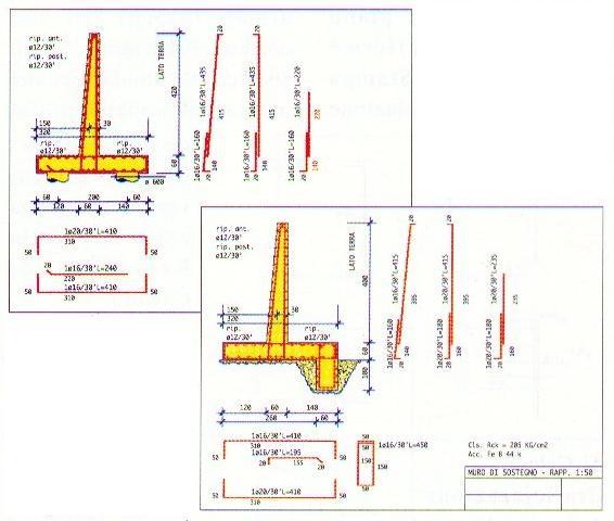 Geotecnica Muri Di Sostegno.Intersoft Italia Srl Muri Di Sostegno In C A