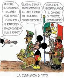 La vignetta di Forattini