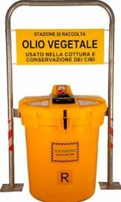 Raccolta Oli vegetali esausti nel III municipio di Roma