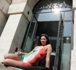 Laura Perego, Borsa di Milano