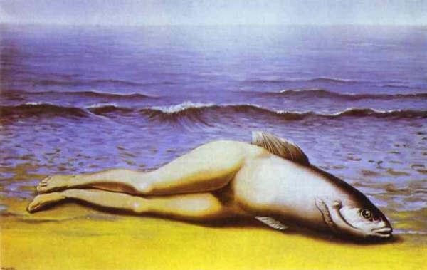 La sirena, Magritte
