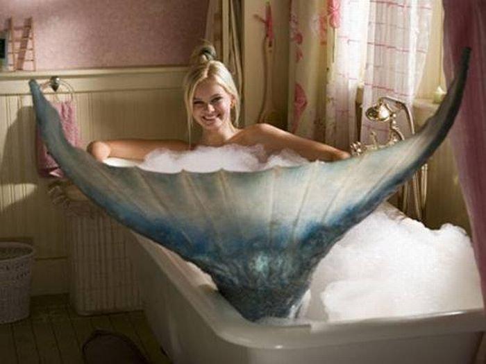 Sirena, vasca da bagno
