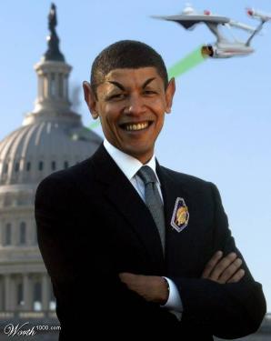 Obama Vulcaniano.