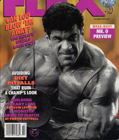 Lou ferrigno May 1974 Muscle Builder - Power Magazine Vintage Magazine