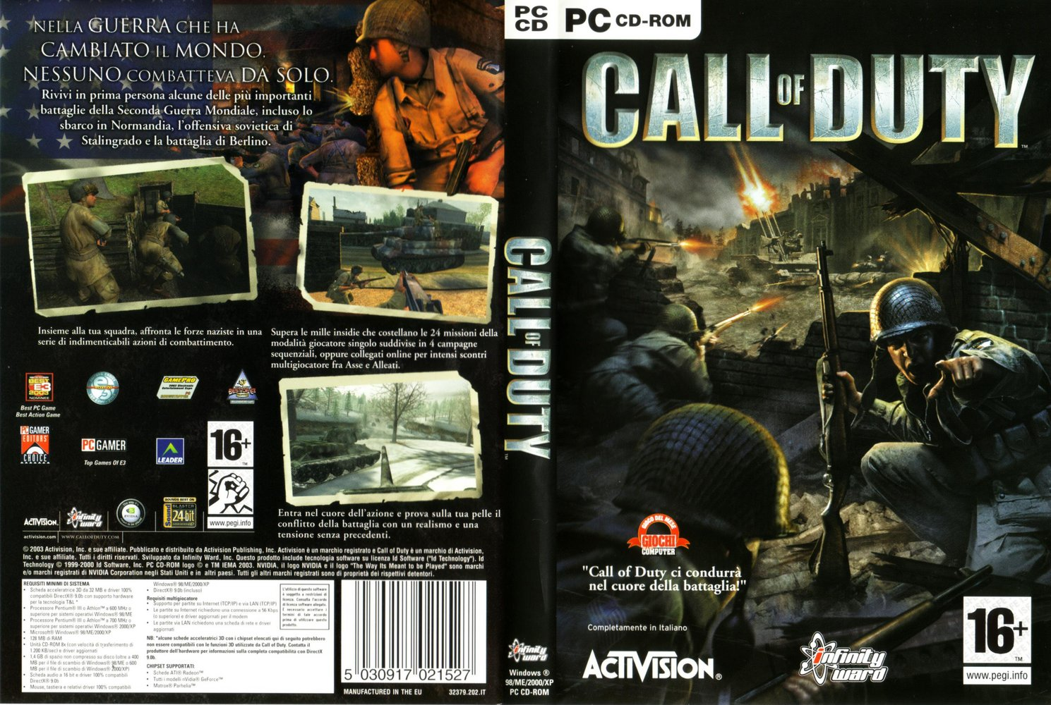 Call Of Duty [PC][Mega]