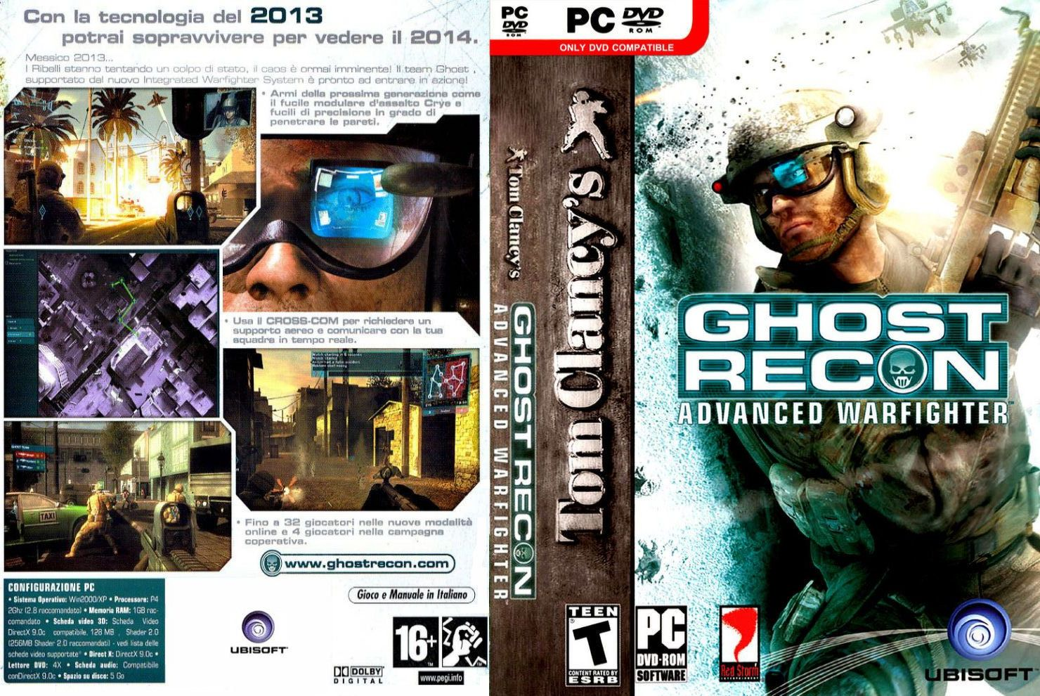 Ghost Recon Advanced Warfighter [1 Link] Ghost_recon_-_advanced_warfighter-front