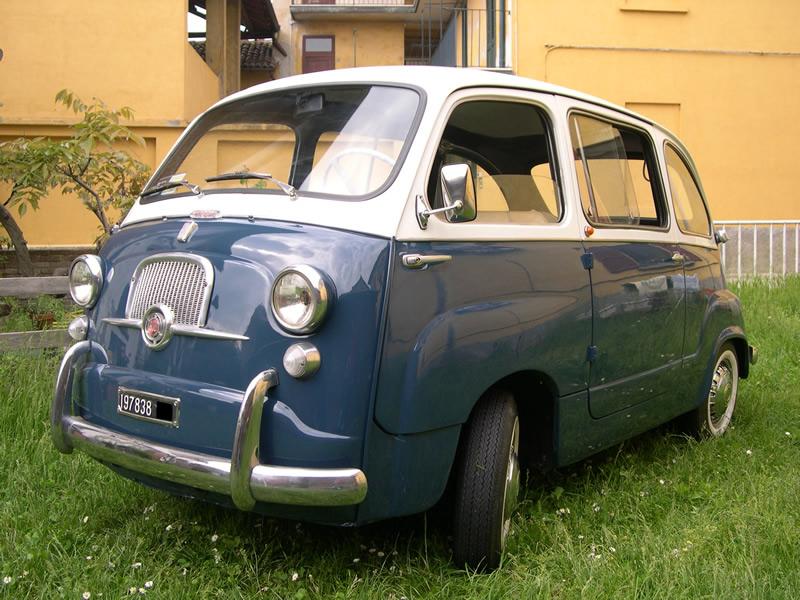 Lucas Car Collection Auto D Epoca 1956 Fiat 600