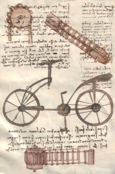 Conversazione guidata su un documento di leonardo da vinci for Bicicletta immagini da colorare