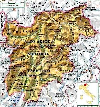 Fiumi Del Trentino Alto Adige Cartina.Documento Senza Titolo