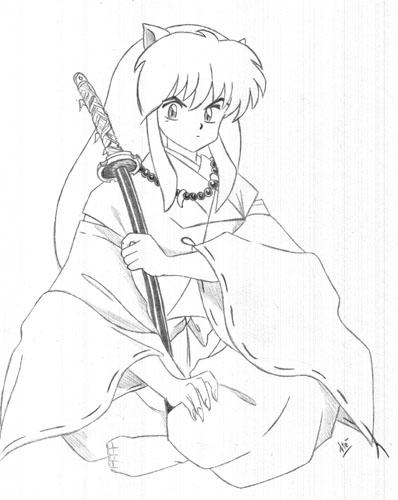 Amato Galleria disegni manga e fumetti  Stefania IM95