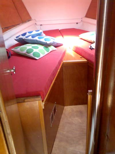 Jeanneau sun odyssey 32 2 in vendita for Foto della piccola cabina