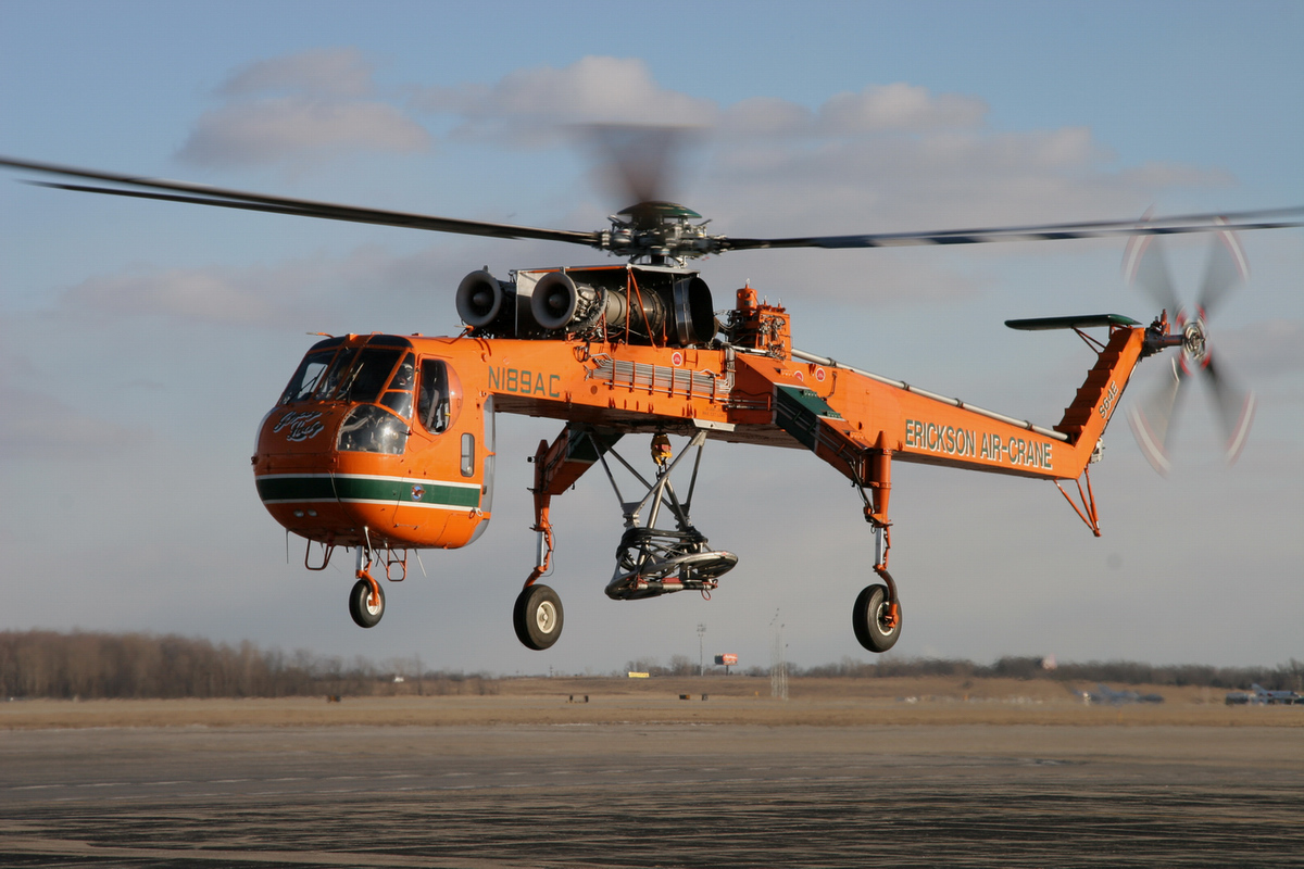 Elicottero S 64 F : Mezzi aerei
