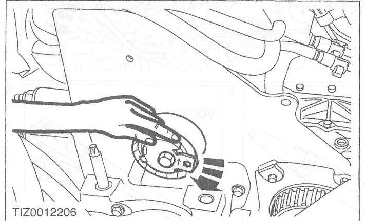 montaggio cinghia alternatore ford transit