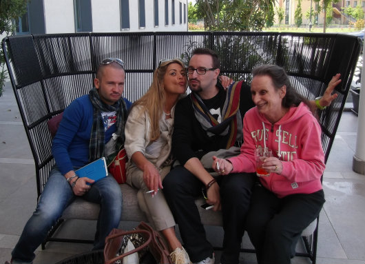 Amoon, Lisa, Stefano, Renata