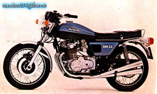 Benelli 500LS (1979)