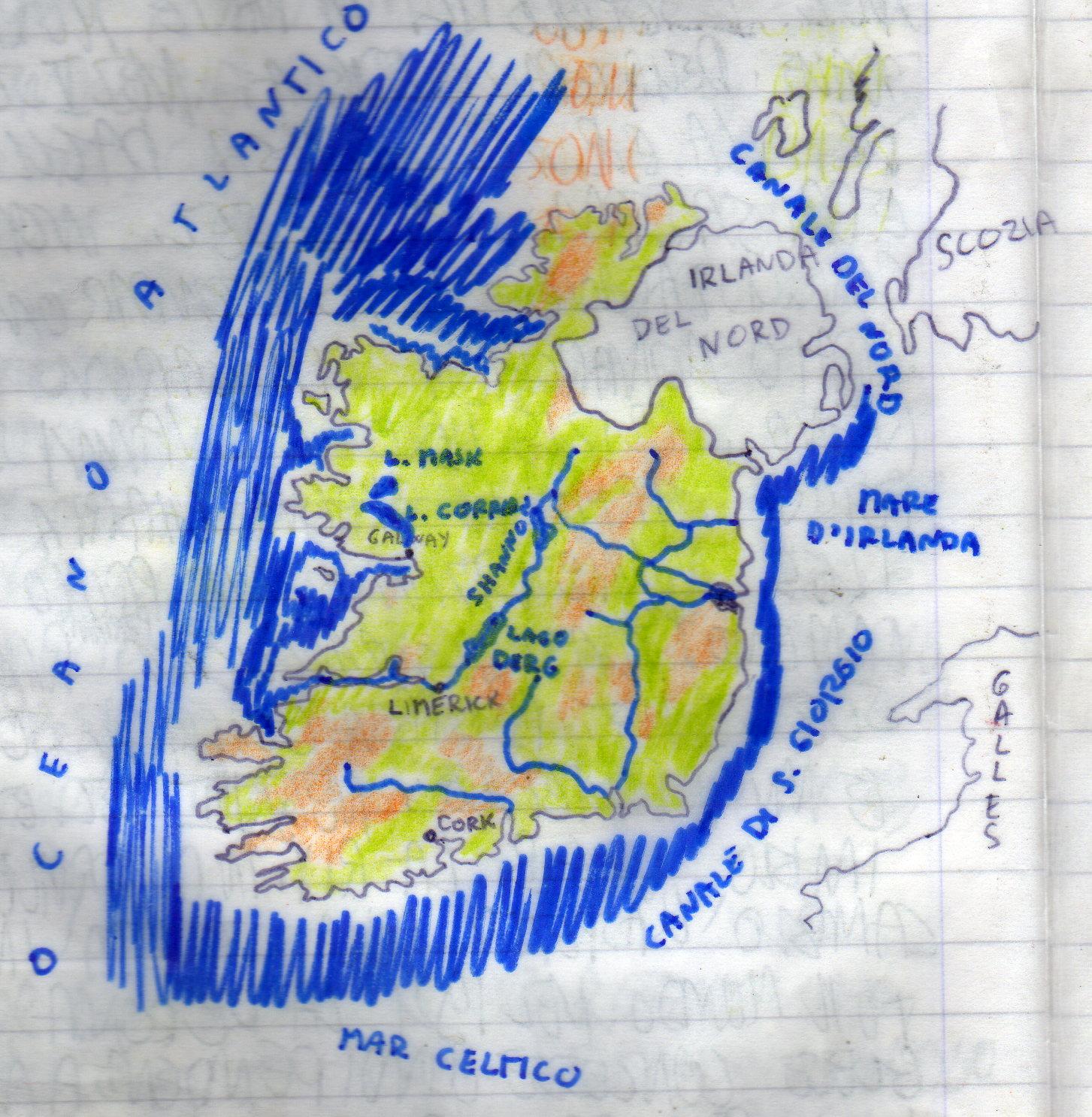 Cartina Politica Dell Irlanda.Ucraina