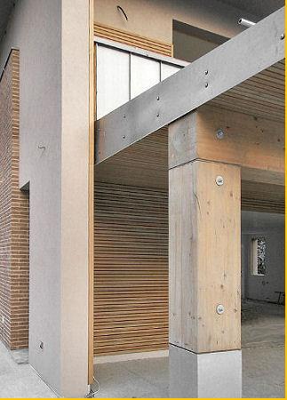 Portico for Avvolgere le planimetrie del portico