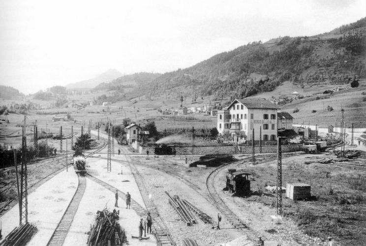 Old Railways In Dolomites Muontains