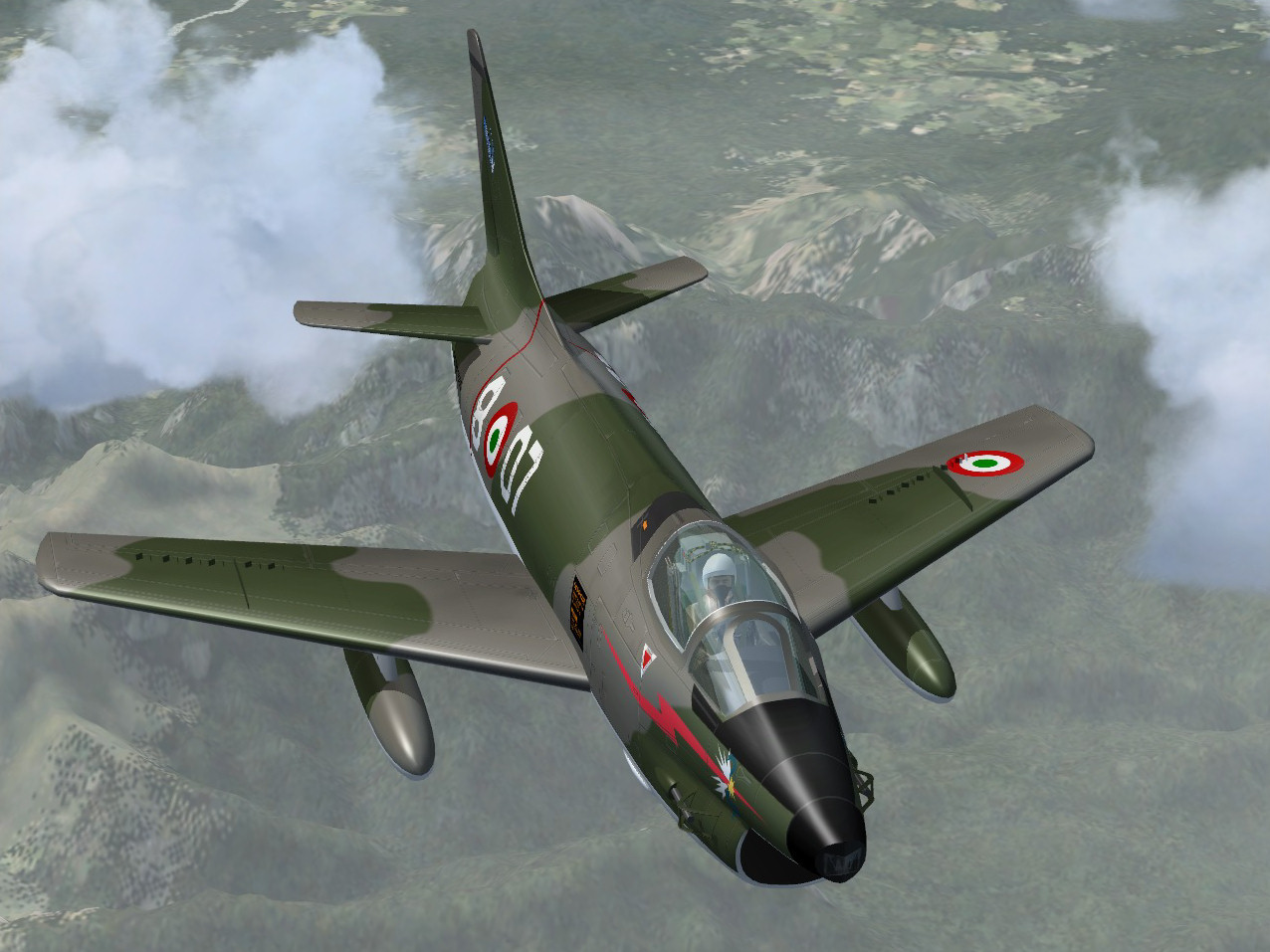 Massimo Altieri - FSX aircraft - Fiat G-91