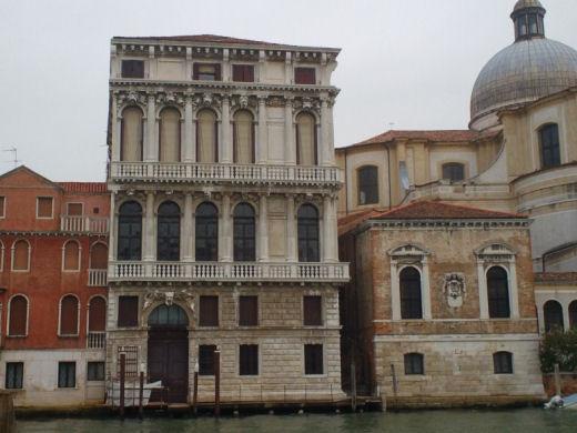 Venezia palazzi sul canal grande sx 01 for Piani di palazzi contemporanei