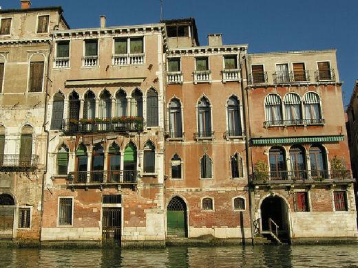 Venezia palazzi sul canal grande sx 02 for Piani di palazzi contemporanei