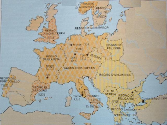 Storia - Mappa di ungheria ed europa ...