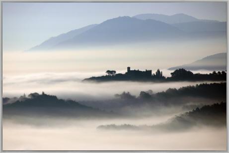 Nebbia in Val Nerina?