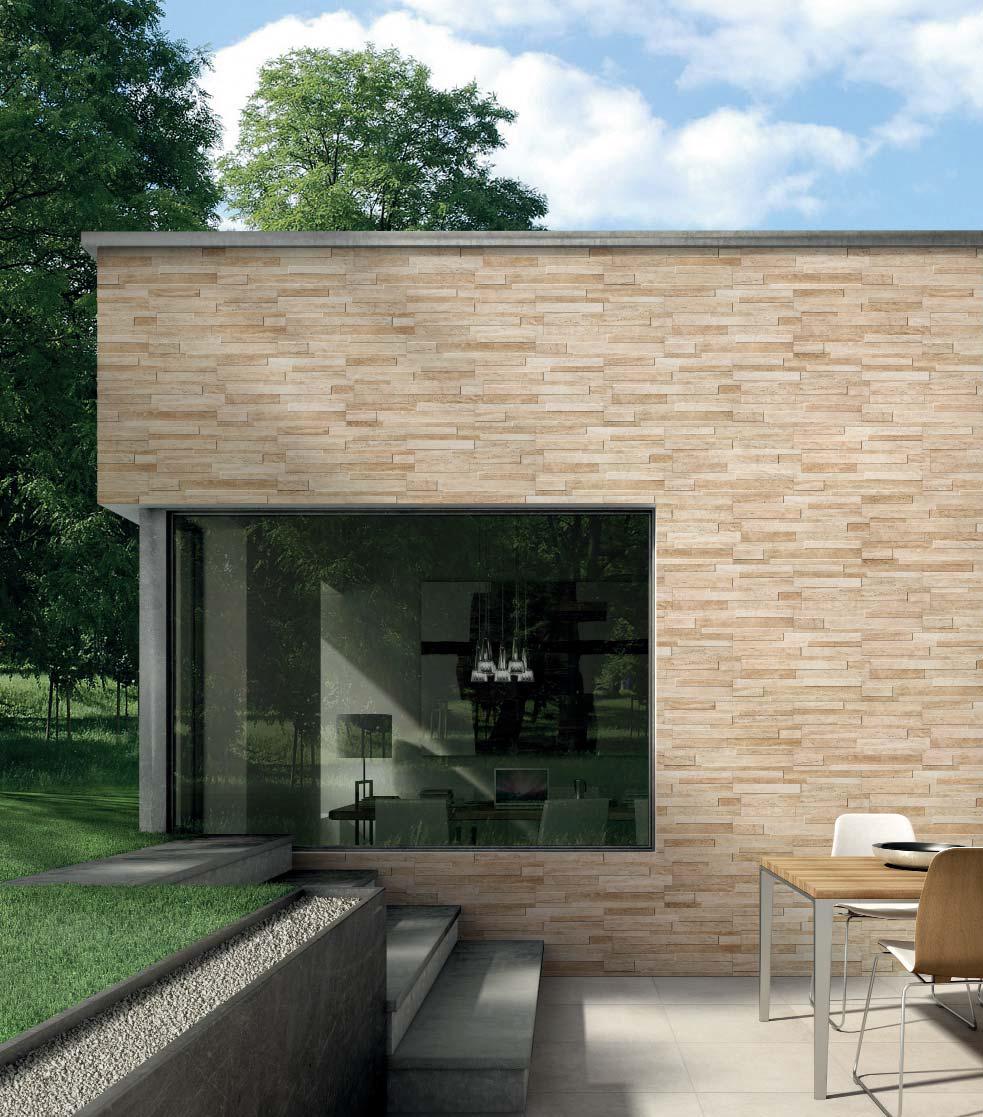 Piastrelle gres rivestimento parete muro interno esterno pietra fiordo arles ebay - Piastrelle muro pietra ...