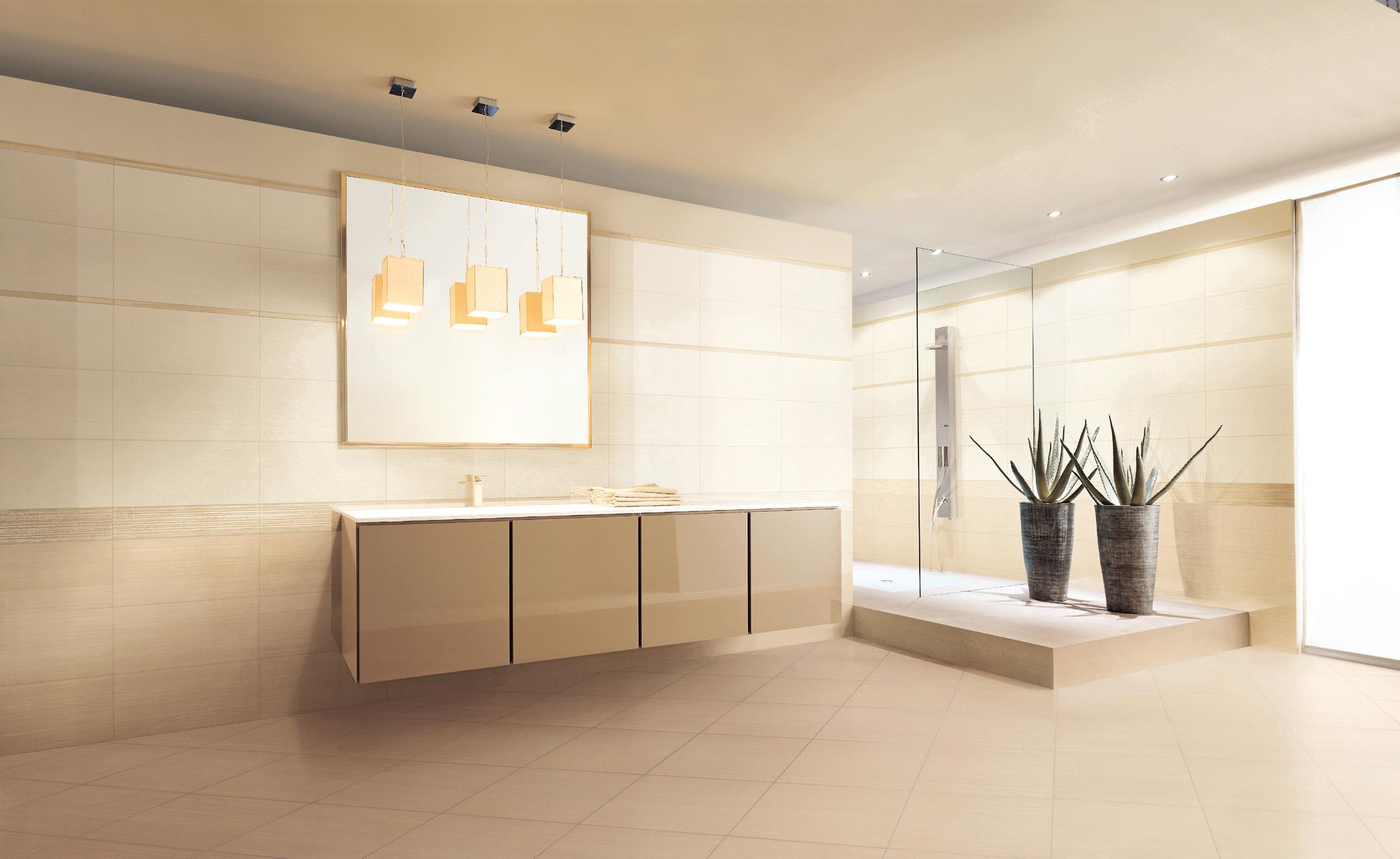 Piastrelle pavimento rivestimento bagno valentino charme avorio beige marrone ebay - Bagno marrone e beige ...